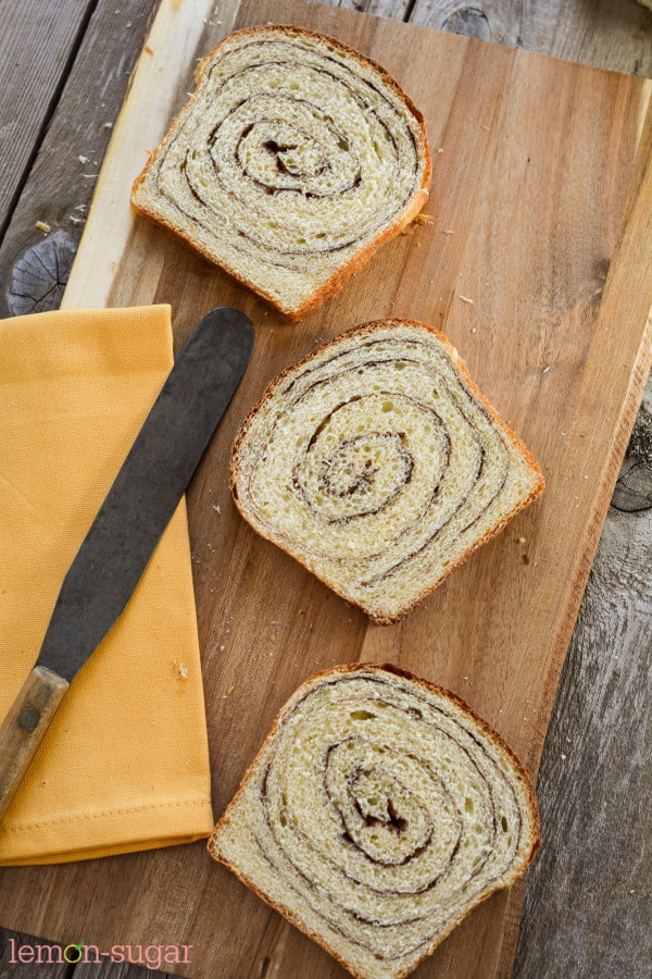 Cinnamon Swirl Bread | lemon-sugar.com