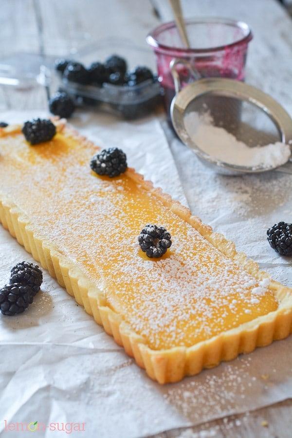 Lemon Blackberry Tart - Lemon Blackberry Tart-1926