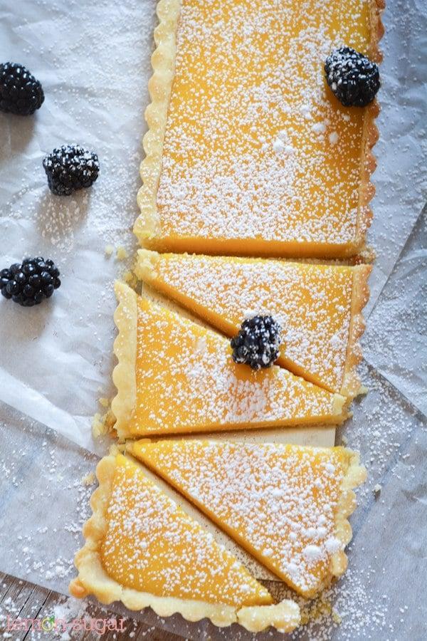 Lemon Blackberry Tart - Lemon Blackberry Tart-1942
