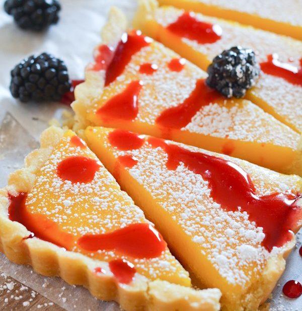 Lemon Blackberry Tart - Lemon Blackberry Tart-1946