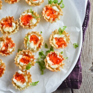 Cream Cheese and Pepper Jelly Fillo Cups - lemon-sugar.com-2456