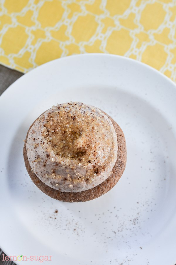 Snickerdoodle Cupcakes | lemon-sugar.com