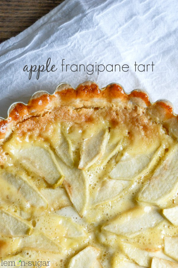 Apple Frangipane Tart | lemon-sugar.com