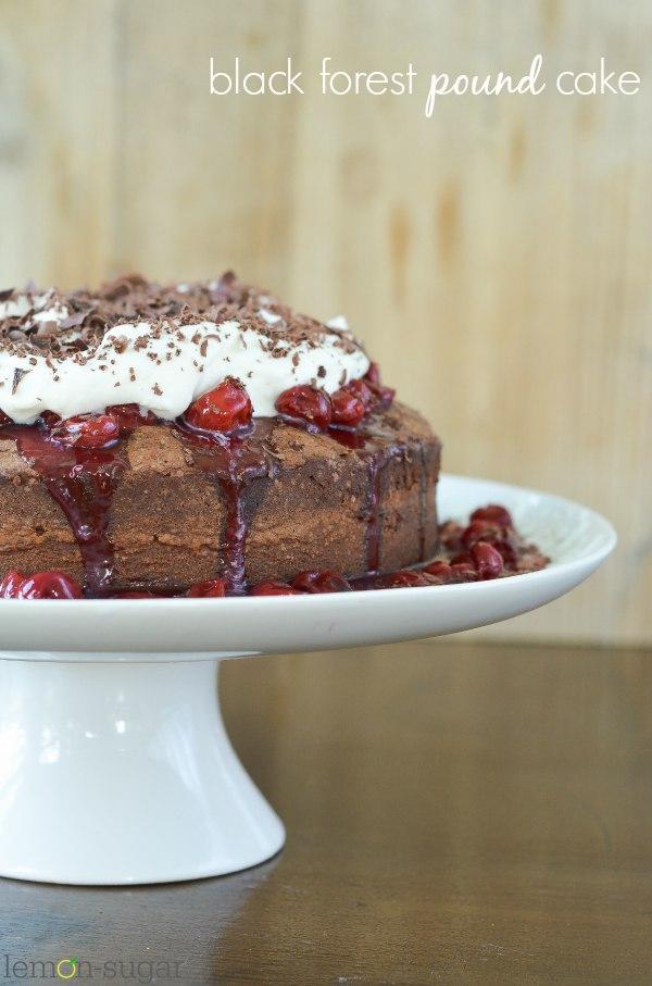 Black Forest Pound Cake - lemon-sugar.com 1