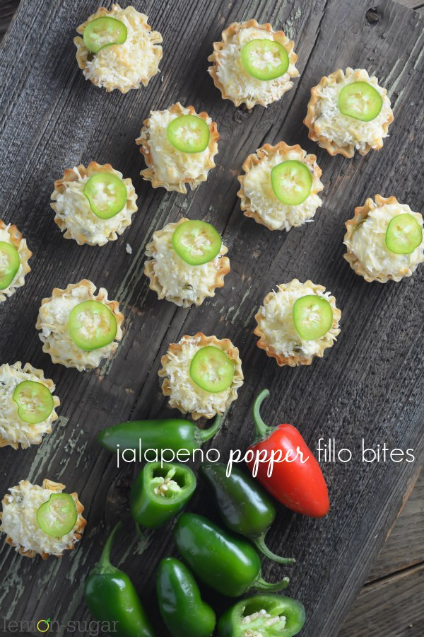 Jalapeno Popper Bites | lemon-sugar.com
