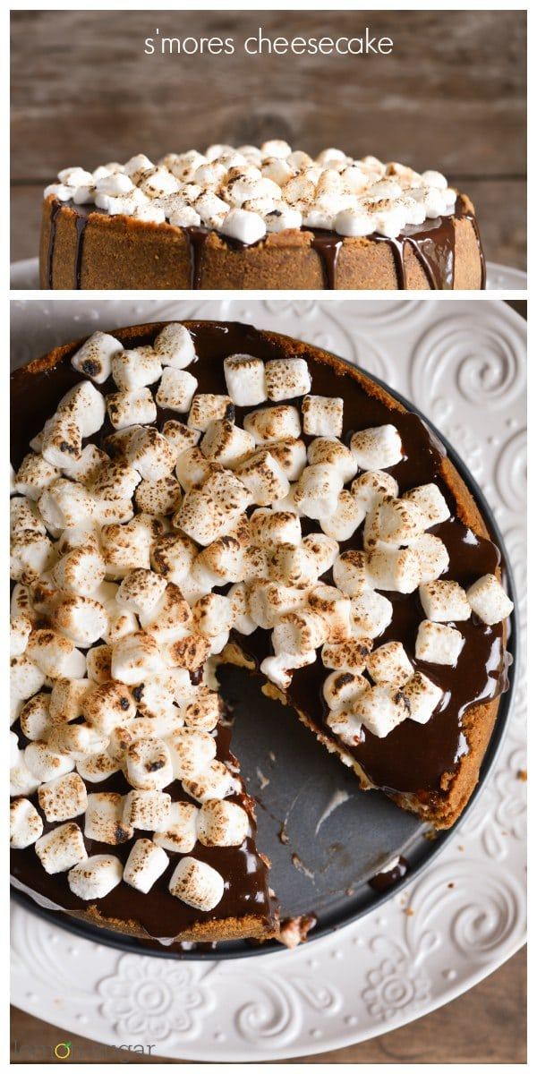 s'mores cheesecake fb