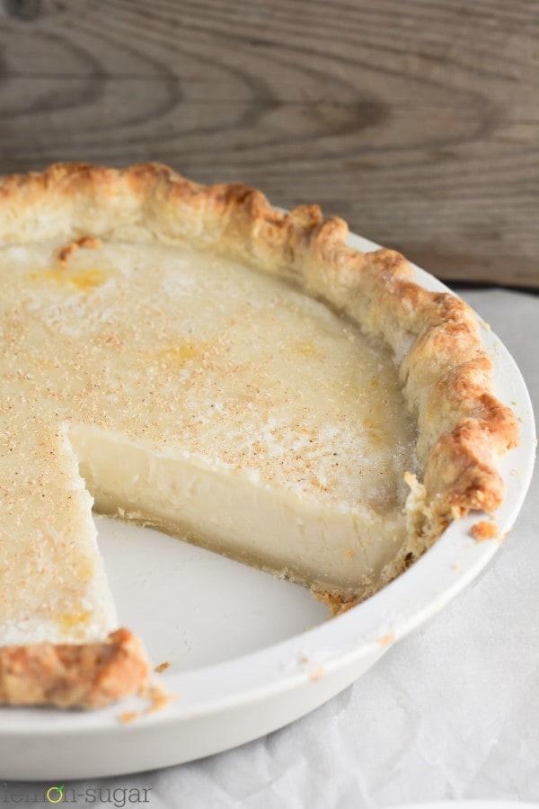 Sugar Cream Pie - lemon-sugar.com-5