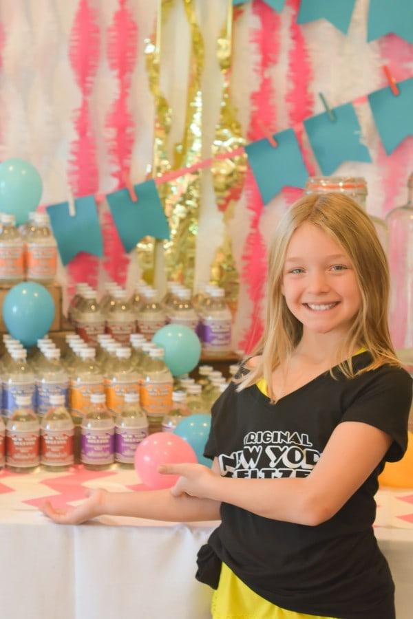 Hashtag Double Digits 10th Birthday Party | lemon-sugar.com