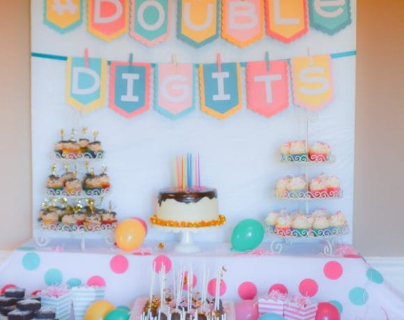 #DoubleDigits:  A 10th Birthday Party