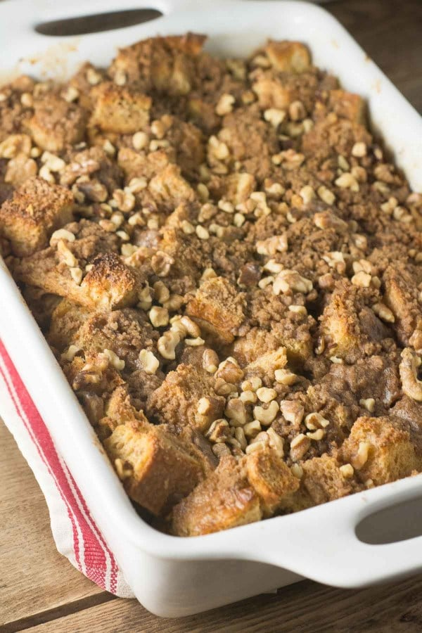 Baked Cinnamon French Toast | lemon-sugar.com