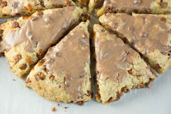 Cinnamon Chip Scones | lemon-sugar.com